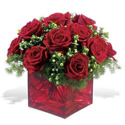 Eryaman online çiçekçi , çiçek siparişi  9 adet kirmizi gül cam yada mika vazoda