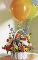 ankara çiçekçi Eryaman çiçekçi mağazası  Mevsim çiçekleri sepeti balon hediye