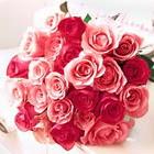 11 adet renkli gül buketi   Eryaman ankaradaki internetten çiçek siparişi