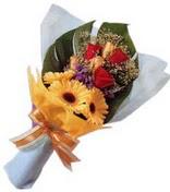 güller ve gerbera çiçekleri   Ankara Eryaman yurtiçi ve yurtdışı çiçek siparişi