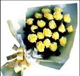 sari güllerden sade buket  Eryaman İnternetten çiçek siparişi