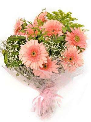 Eryaman çiçek gönderme sitemiz güvenlidir  11 adet gerbera çiçegi buketi