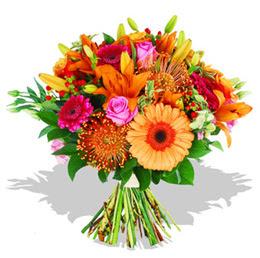 Eryaman çiçek güvenli kaliteli hızlı çiçek  Karisik kir çiçeklerinden görsel demet