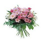 karisik kir çiçek demeti  Eryaman çiçek gönderme sitemiz güvenlidir
