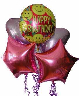 Eryaman ankaraya çiçek internetten çiçek satışı  11 adet renkli uçan balon hediye ürünü