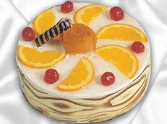 lezzetli pasta satisi 4 ile 6 kisilik yas pasta portakalli pasta  Ankara Eryaman çiçek satışı çiçek siparişi