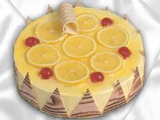 taze pastaci 4 ile 6 kisilik yas pasta limonlu yaspasta  Ankara Eryaman çiçek mağazası , çiçekçi adresleri