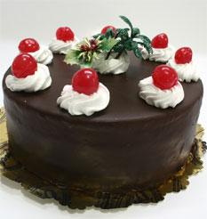 4 ile 6 kisilik yas pasta çikolatali taze pastaci  Çiçek yolla Eryaman 14 şubat sevgililer günü çiçek