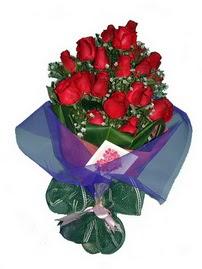 12 adet kirmizi gül buketi  Ankara Eryaman çiçek mağazası , çiçekçi adresleri