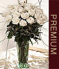Eryaman ankaraya çiçek internetten çiçek satışı  Beyaz güllerden vazo tanzim