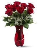 8 adet kırmızı gül sevgilime hediye  Eryaman çiçek yolla , çiçek gönder , çiçekçi