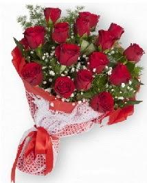 11 kırmızı gülden buket  Ankara Eryaman çiçek siparişi vermek
