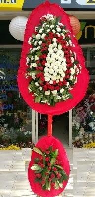 Çift katlı düğün çiçekleri  Eryaman ankaradaki internetten çiçek siparişi