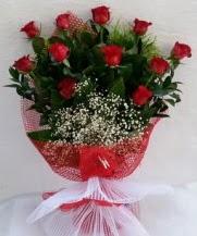 11 adet kırmızı gülden görsel çiçek  Eryaman çiçek gönderme sitemiz güvenlidir