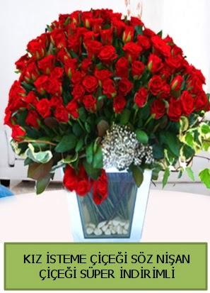 Söz nişan kız isteme çiçeği 71 gülden  Eryaman çiçek yolla , çiçek gönder , çiçekçi