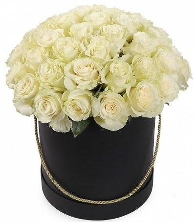 33 adet beyaz gül özel kutuda isteme çiçeği  Eryaman çiçekçi  çiçek , çiçekçi , çiçekçilik